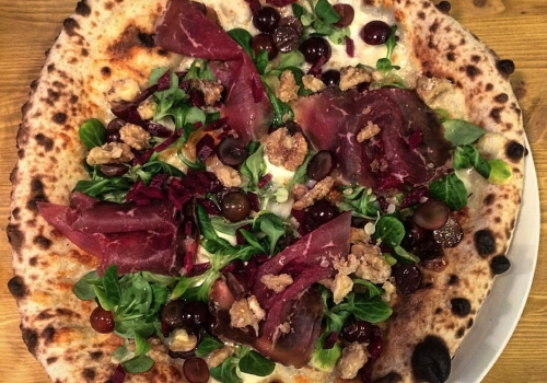Pizza Effi Bresaola reloaded